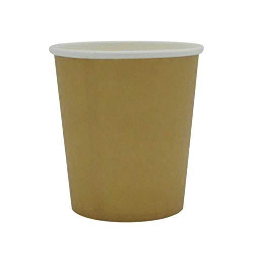 Vaso de cartón Kraft, 35 cl, 50 unidades