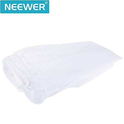 Neewer 51 inches/129 Centimeters Photography Studio Umbrella Diffuser Soft Light Cloth for 51-inch Parabolic Reflective Lighting Umbrella