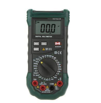 Medidor digital LCR de capacidad de resistenciaprobador de temperatura