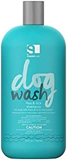 SYNERGY LAB DOG WASH FLEA & TICK SHAMPOO 354 ML