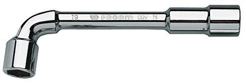 Facom 75,12 Clé à Pipe Débouchées 6 X 6 Pans 12 Mm