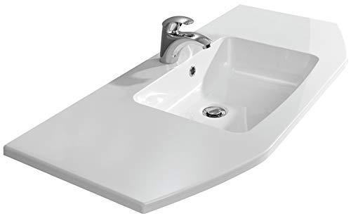 Pelipal - Alika 17 - Mineralmarmor-Waschtisch - 112 cm - für die Badmöbel Alika, Amora, Granada, Velo