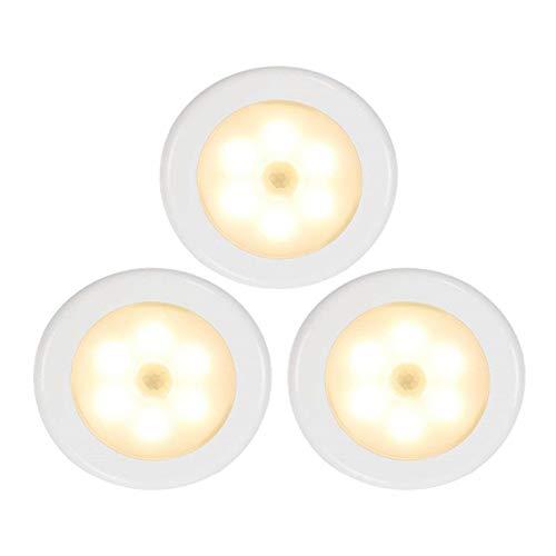MRCOCO Luce Notturna, Luce Notturna LED Plug-And-Play, Automatiche Luce Notturna da Presa con Sensore Crepuscolare per Camerette, Soggiorno, Bagno, Corridoio, Vano Scala, 3 Pezzi,Warm Light