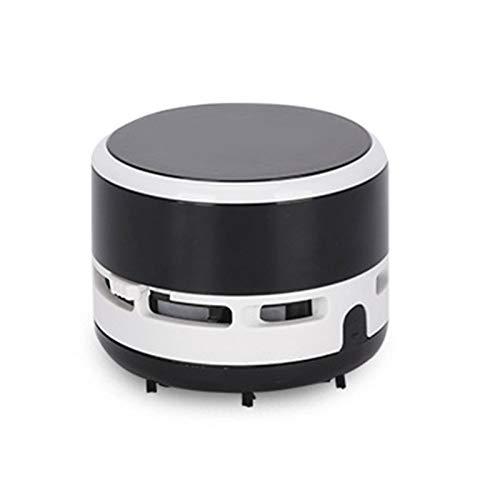 Lood Mini desktop Vacuum Desk Dust Cleaner - Aspirador de polvo portátil para teclado de oficina en casa, alta fuerza de succión, color azul, rosa y negro