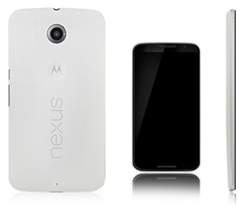 Xcessor Vapour Flexible TPU Gel Case for Motorola Google Nexus 6. Semitransparent