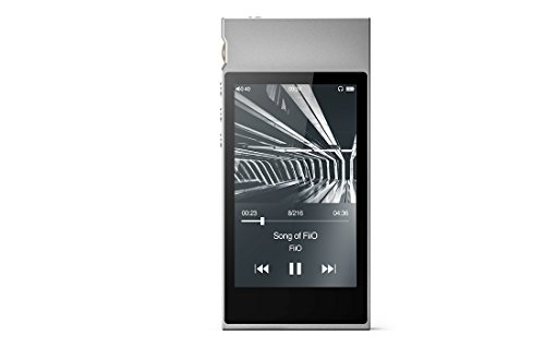 FiiO M7 High Resolution Lossless Music Player with aptX, aptX HD, LDAC HiFi Bluetooth, FM Radio and Full Touch Screen (Silver) …