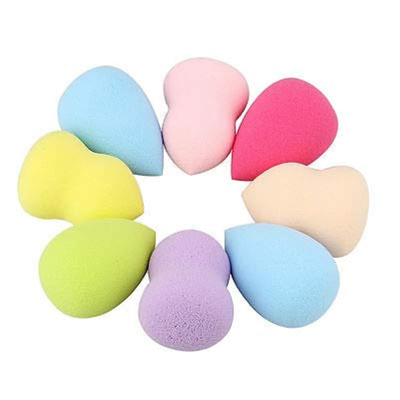 化粧デュアルウルルFidgetGear 4×スムース美容メイクファンデーションスポンジブレンダーパフ完璧な粉体