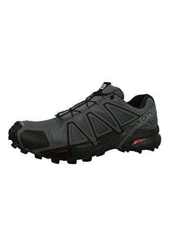 Salomon - Speedcross 4 - Chaussures à Randonnée - Homme - Gris (Dark Cloud/Black/Grey) - 42 EU