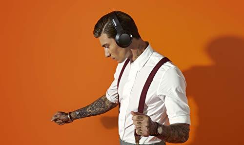 Philips Audio SHB3175BK/00 Bluetooth On Ear Kopfhörer On Ear Faltbar, Headset, Noise Cancelling Schwarz