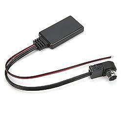 【Compatible avec plusieurs versions Bluetooth】Version Bluetooth 5.0 et compatible avec les autres versions 2.0 3.0 4.0 de Bluetooth. 【Conçu spécifiquement pour】 L'accessoire de voiture du module Bluetooth est compatible avec Alpine Radio Ainet Port. ...