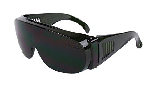 Schweisser Brille Panorama grün Ideal f. Brillenträger!