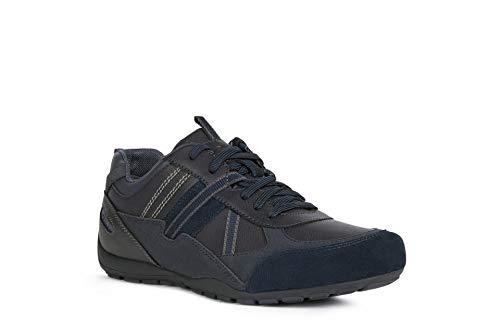 Geox Herren U RAVEX A Sneaker, Blau, 44 EU