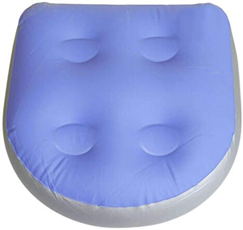 ECOSWAY Spa Booster Seat Back Inflatable Massage Cushion Pad for Adults Spa Hot Tubs