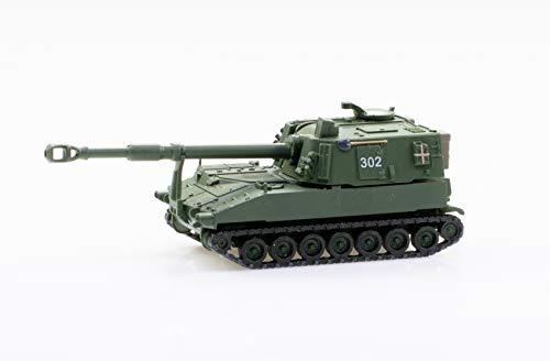 Arwci ACE 85005017 1/87 Panzerhaubitze M-109 Jg74 Langrohr Uni, K-Nr. 302 Die- Cast, Sammlermodelle