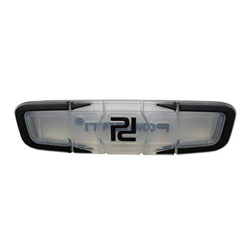 Raqueta De Tenis Antivibrador Prima De Tacto Blando De Silicona Amortiguador Agradable para El Brazo De La Raqueta Y Cadenas Negro