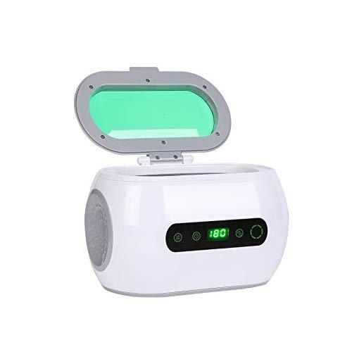 Z ZELUS 35W 600ml Ultraschallreiniger Reinigungsgerät Ultraschallreinigungsgerät mit Reinigungskorb LCD Anzeige Ultrasonic Cleaner Reiniger Reinigungsmaschine für Brillen Schmuck