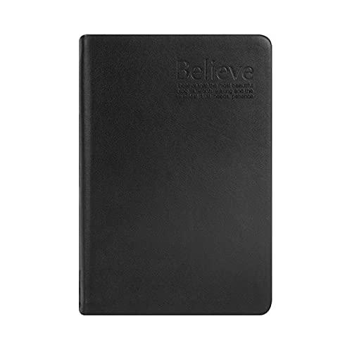 Xuebai Cuaderno de papel grueso retro de la PU de cuero de la Biblia estilo diario diario diario agenda planificador papelería suministros