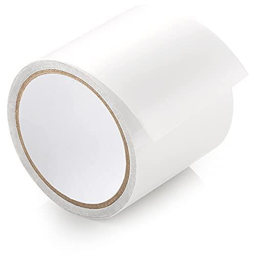 ecooe Zelt Klebeband 5M x 8CM Zelt Klebebänder Reparaturband Transparent Wasserdichte Professionell geeignet für PVC-beschichtetes Zelt markisen Pavillon flicken