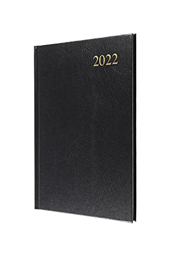 Collins Essential A5 Week to View 2022 Diary – Black