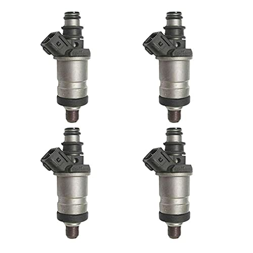 4 piezas de inyectores de combustible originales para coche, accesorios de inyectores de combustible duraderos eficientes, para Honda Accord Civic Odyssey Acura RL TL Integra 84212192 06164P2J000