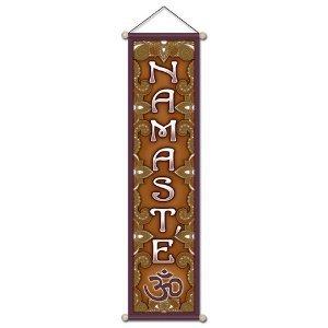Namaste méditation Banderole