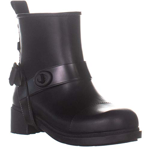 ladies coach rain boots - 5