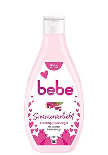 Bebe Young Care Sommerverliebt Rhababer Duschgel 6er Pack (6 x 250 ml)