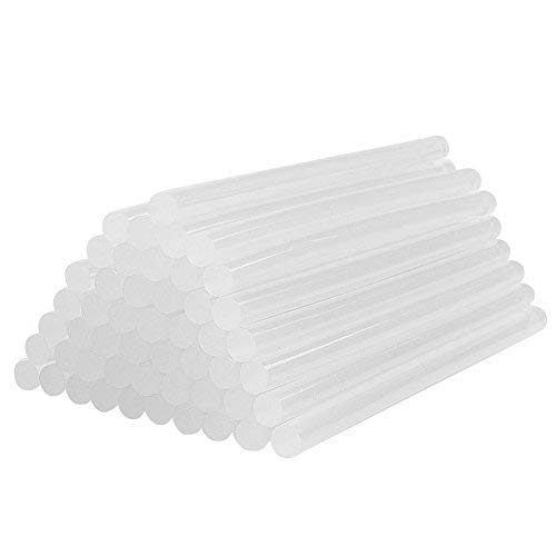 Simuer 60 Pack Hot Melt Glue Stick Universal Adhesive Sticks 7mm x19CM DIY Tool For Hot Glue Gun DIY Small Craft Arts & Crafts Projects Sealing and Quick Repairs in Home Office Artistic Creation
