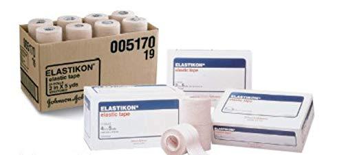 PS Medical 17962 & PS Medical Elastikon Elastic Tape - Boxed 1' x 5 yds 12 Rolls per Box