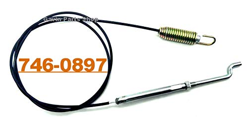 Gavin parts shop 746-0897 Snow Blower Clutch Drive Cable for MTD 946-0897 746-0897A 946-0897A 2 Stage