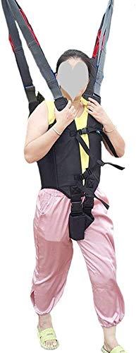 31+vuDOrw+L - Grúa de paciente portátil Montacargas honda del paciente for el uso casero cinta de transferencia de la cómoda del paciente de la desventaja honda Cama de cuidado del cinturón de cintura ajustable Any