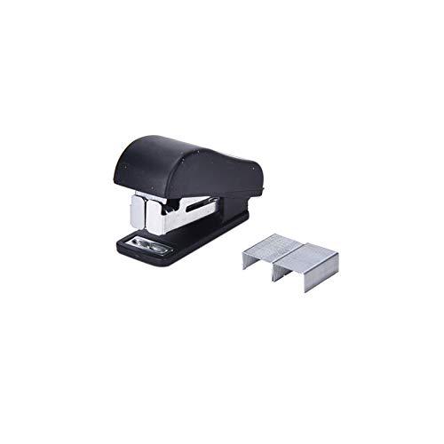 XIAOSHI Engrapadora Mini Manual GEOMÉTICO Grapador Grapas Conjunto de papelería Accesorios de Oficina Suministros Escolares Color Aleatorio engrapadora Stanley