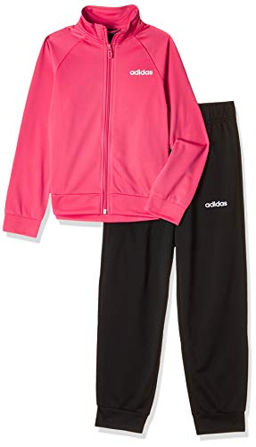 adidas Mädchen Trainingsanzug Entry Tracksuit REAL PINK S18/white/black 128