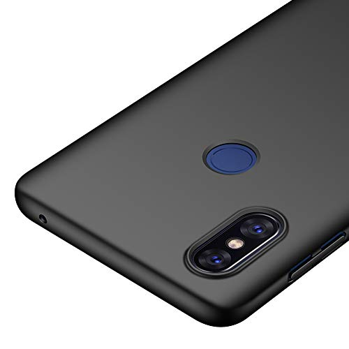 Richgle Xiaomi Mi Mix 3 5G Hülle, Schwarz Sehr Dünn Schutz Hülle Handyhülle Harte Schutzhülle Hülle für Xiaomi Mi Mix 3 5G RG00436