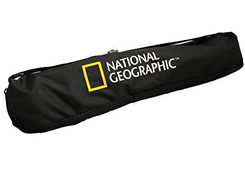 NATIONALGEOGRAPHIC三脚3ウェイ雲台付きスモール4段アルミブラックケース付属コンパクト軽量運動会旅行に最適耐荷重1kg格納高41cmNGPHMIDI