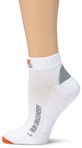 X-Socks Discovery Chaussettes Homme, Blanc, 45-47