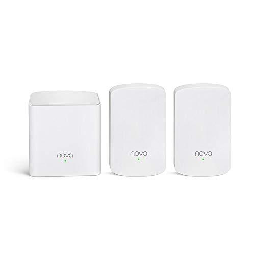 MHCYKJ Wireless WiFi Mesh Router AC1200 Dual Band 2.4Ghz 5.0Ghz WiFi Repeater...