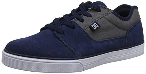 DC Shoes (DCSHI) Tonik-Shoes for Boys, Chaussures de Skateboard garçon, (Navy/Orange), 38 EU