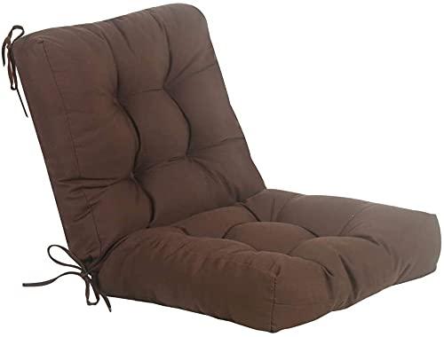 Cojines Para Sillas De Terraza Con Respaldo cojines para sillas  Marca Genérico