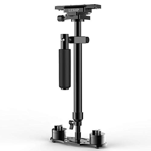 LESHP - Estabilizador de cámara de vídeo de Bolsillo con Placa de li