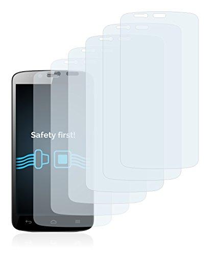 Savvies 6X Schutzfolie kompatibel mit Honor Holly Displayschutz-Folie Ultra-transparent - 2