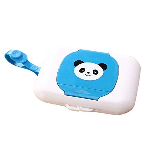 Baby Travel Wipe Case Niño Toallitas húmedas Caja cambiante dispensador almacenamiento titular