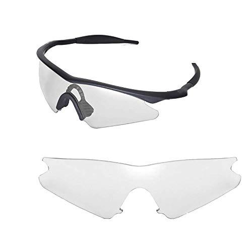 sunglasses restorer sunglasses restorer Kompatibel Ersatzgläser für Oakley M-Frame Sweep (Photochromic Grey)