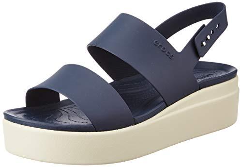 crocs Damen 206453-46K_39/40 Outdoor Sandals, Navy, EU
