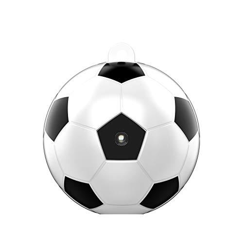 KKmoon Mini Cámara de Estilo de Fútbol 1920 x 1080P HD Cámara Portátil USB Recargable para Oficina Casa Interior y Exterior