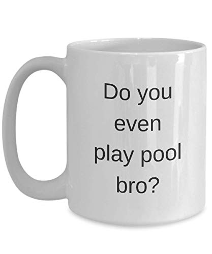 N / A Pool Bro Mug - Spielst du überhaupt Pool Bro?