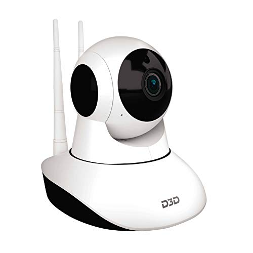 D3D Wireless HD IP WiFi CCTV [Watch Online Demo Right Now] Indoor Security Camera (Support Upto 128...