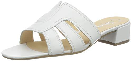 Gabor Shoes Damen Fashion Pantoletten, Weiß (Weiss 21), 38 EU