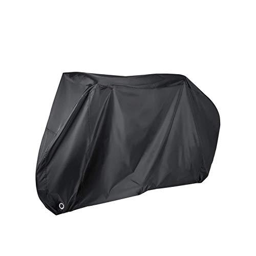 XINTUON Cubierta de bicicleta para 2 bicicletas impermeable al aire libre tela de alta calidad bicicleta anti proteger la bicicleta fácil de empacar