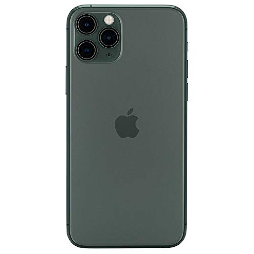 Apple iPhone 11 Pro Max, 64GB, Midnight Green - Fully Unlocked (Renewed)